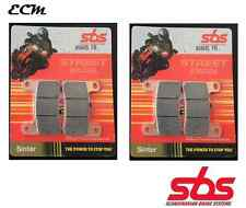 Suzuki GSX-R 1000 K6 2006 Radial Caliper SBS Set of Front Brake Pad Sinter 806HS