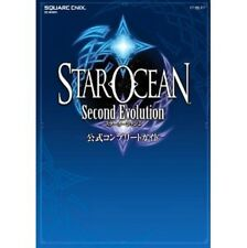 Star Ocean 2 Second Evolution Official Complete Guide Book / PSP