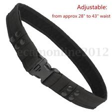 Men Heavy Duty Security Army Police Guard Parametic Utility Belt Quick Release