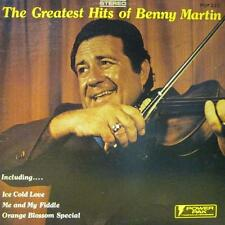 Benny Martin(Vinyl LP)The Greatest Hits-Power Pak-PO# 223LP-US-VG+/VG+