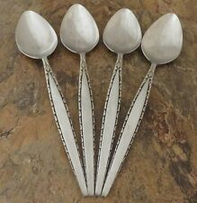 Oneida Venetia Set of 4 Serving Spoons Community Stainless Flatware Lot M