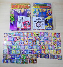 Nintendo Lot Pokemon Vintage Mini Trading cards and Rare Pokemon Tretta set