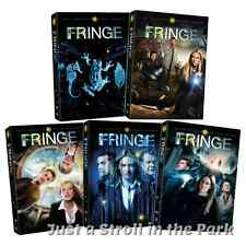 Fringe: Complete TV Series Seasons 1 2 3 4 5 Box / DVD Set(s) Collection NEW!