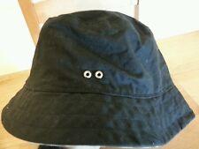 GAP Black Water Resistant Cotton Bucket Hat Size M/L ACS