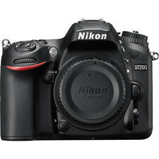 Brand New Nikon D7200 DSLR Digital Camera Body 24.2MP * UK Local Dispatch