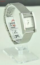 NWT Ladies Watch Prime GUESS Silver Stainless Steel G-Link Women New U0127L1