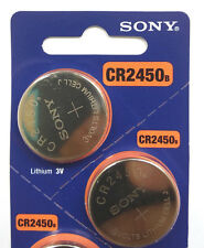 2 NEW SONY CR2450 DL2450 DR2450 BR2450 ECR2450 3V BATTERY -Expiration Year: 2026