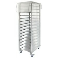 Commercial Quality Re-usable Cover for Tray Racks & Trolleys (600x400mm trays)