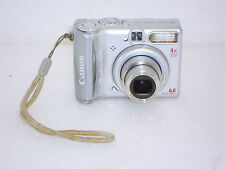 Canon PowerShot A540 6.0 MP Digital Camera - Silver w/ 4x Optical Zoom #239