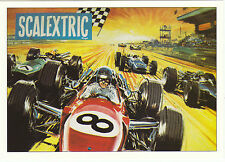 ROBERT  OPIE  ADVERTISING  POSTCARD  -  SCALEXTRIC