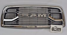 2016-2017 Dodge Ram 2500 3500 Laramie Front Chrome Grille w/ RAM Center new OEM