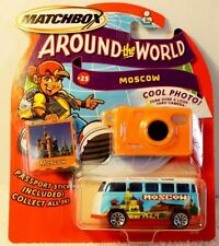 Matchbox Volkswagen VW Bus Van Around the World Moscow