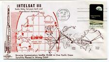 1970 Intelsat III Radio Reay Earth Moon-Bound Astronauts Cape Canaveral Apollo 8