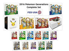 Pokemon Generations 2016 Entire Year Booster Box Complete Sets Packs Pins Promos