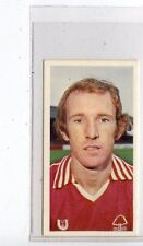 (Jc8441-100)  BASSETT,FOOTBALL 1978-79,IAN BOWYER,NOTTINGHAM FOREST,1979,#17