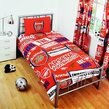 Arsenal Multicoloured Single Duvet Set