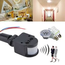 Outdoor Automatic Infrared PIR Motion Sensor Switch Detector for LED Light F7