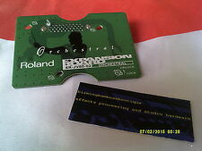 Roland SR-JV80-02 placa de expansión de sonido orquestal Roland Jv