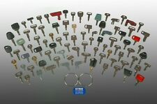 100 Heavy Equipment Keys Set- CAT-Case-John Deere-Kubota-JCB-Yanmar-Volvo-Daewoo