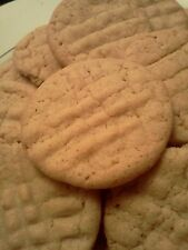Homemade Peanut Butter Cookies, Soft & Chewy, 5 Dozen