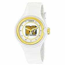 Calypso women watch MTV SPECIAL EDITION GOLD & WHITE baby g lacquered Orologio