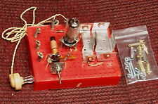 ORIGINAL vintage Radio Shack Science Fair AM vacuum tube P-BOX electronics kit