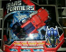 Transformers movie 2007 first Strike Optimus Prime voyager