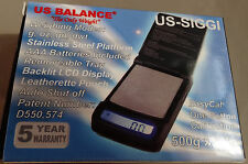 New US Balance Siggi 500g x 0.1g Digital Jewelry Gold Pocket Lightweight Scale