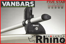 Ford Transit Custom Low Roof H1 3 Bar Rhino KammBar™ Roof Rack Bar System TB3KS