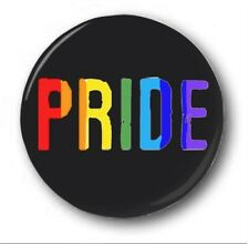 "PRIDE - 25mm 1"" Button Badge - Novelty Cute LGBT Gay Pride"