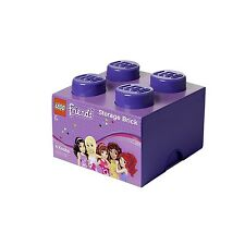LEGO Friends 4-Plug Storage Brick (Purple)