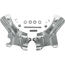 Kuryakyn 7833 Chrome Neck Covers for 07-14 Harley Softails