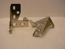 PIVOT HINGES to Replace Amerock BP1238 or BP1242 Bright Nickel Finish Brand New