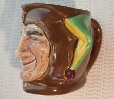 Royal Doulton Character & Toby Jug The Jester, Small, c. 1930
