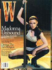 W Magazine 04/2003 MADONNA UNBOUND by STEVEN KLEIN Elise Crombez ANDY RODDICK