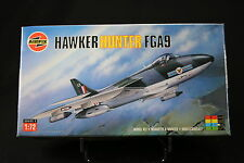 XK096 AIRFIX 1/72 maquette avion HAWKER HUNTER FGA9 Ref 02073 series 2 1987