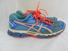 Asics Gel Cumulus 15 T3C8N(2A) Blue Women's Running Shoes Size 8 ½ US Narrow