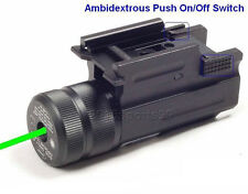 For GLOCK 17 19 20 23 22 21 Green Laser Sight Fits Weaver and Picatinny QD Mount