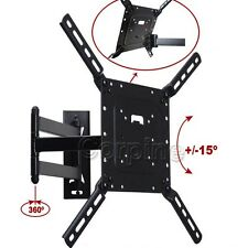 "Tilt Swivel TV Wall Mount Bracket 32 37 39 40 42 43 46 47 50"" LED LCD Plasma M9P"