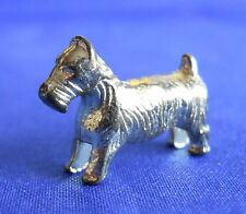 Monopoly Scottish Terrier Dog Gold Replacement Game Token Piece Part Mover
