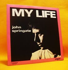 "7"" Single Vinyl 45 John Springate My Life 2TR 1985 (MINT) Pop"
