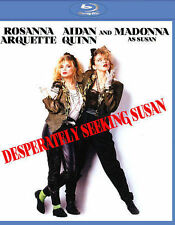 DESPERATELY SEEKING SUSAN BLU-RAY - SINGLE DISC EDITION - NEW UNOPENED - MADONNA