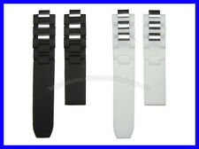Generic Black Replacement Watch Band for Cartier Must 21 Chronoscaph & Autoscaph