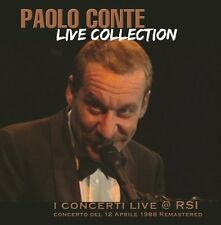 Paolo CONTE-LIVE COLLECTION-RSI 12.04.1988 CD NUOVO