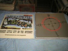 MEGADETH-(cryptic writings)-1 POSTER FLAT-2 SIDED-12X12-RARE
