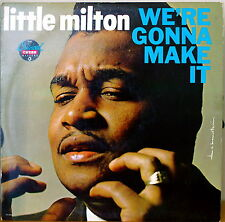 LITTLE MILTON: We're Gonna Make It-M1986LP EMBOSSED COVER PROMOTIONAL COPY