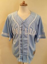 Rare VTG Master P Miller Blue Baseball Authentic Collection Jersey Sz L Hip Hop