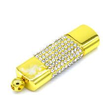 Goldbox Steckbar mit Steinen - USB Stick 8 GB Speicher / Flash Drive