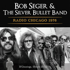 BOB SEGER New Sealed 2017 UNRELEASED LIVE 1976 CHICAGO CONCERT CD