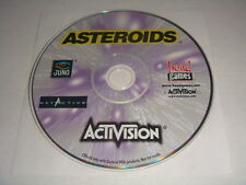 Asteroids - PC CD Computer game Disc Only AcTiVision Generals Mills